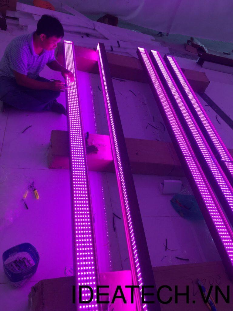 Các công trình sử dụng đèn led 16 triệu màu